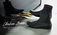 The British have contributed heavily to the world of men's fashion for centuries with staples that still hail supreme today such as tweed, trench coats and the blessed three piece suit, but this season, Chelsea boots have been the toast of men's footwear and my personal new favorite shoe of all time. Taking its roots from Victorian England just as another area of style, Chelsea boots began as...