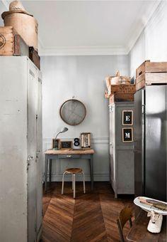 Appartamento d'epoca in stile vintage a Parigi
