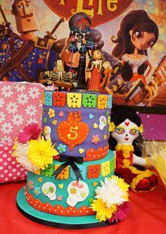 The Book of Life Cake La Muerta, Manalo, Maria, Xibaba
