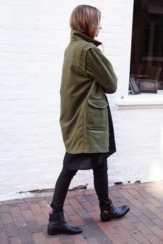 Ryan Army Coat   Emerson Fry