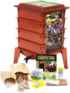 Why the Worm Factory® 360? The worm factory 360 is a simple and efficient way to turn your organic waste products into an excellent natural fertilizer. It is estimated that American households throw a #greenhouse