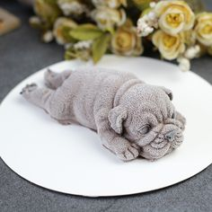"Universe of goods - Buy ""Dog Silicone Mold Mousse Cake Shar Pei Mould Ice Cream Jello Pudding Blast Chilling Tool Fondant Decoration"" for only USD. Puppy Ice Cream, Puppy Cake, Cardboard Sculpture, Background Diy, Shar Pei, Fondant Decorations, Mousse Cake, Weird And Wonderful, Cake Mold"