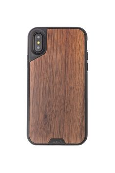 Real Walnut Wood Case | iPhone / Samsung.   Resilient enough to survive a 45ft drop. More than just a protective case!