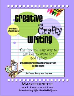 12 Writing Lessons Teaches how to Glorify God in your Writing. Make a Fable Pop-up Book, Write for the Bitble TImes Gazetter and More! New Millennium Girl Books-homeschool writing books Creative Writing Books, Cool Writing, Writing A Book, Writing Ideas, Writing Lessons, Teaching Writing, Teaching Ideas, Teaching Materials, Teaching Tools