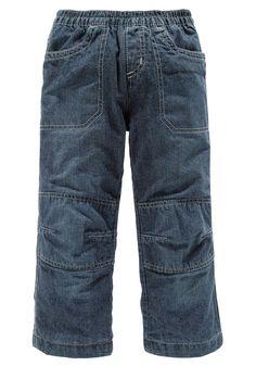 Produkttyp , Schlupfjeans, |Qualitätshinweise , Hautfreundlich Schadstoffgeprüft, |Materialzusammensetzung , Obermaterial: 100% Baumwolle. Futter: 100% Baumwolle, |Material , Baumwolle, Jeans, |Farbe , dark denim, |Passform , Basic-Form, |Beinform , gerade, |Beinlänge , lang, |Leibhöhe , normal, |Schnittdetails , Kniepatches, |Bund + Verschluss , Rundum-Gummizug, |Taschenanzahl , 4, |Vorder- un...