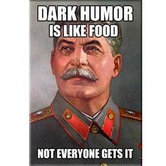 Dark Humor Stalin Magnet