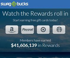 Search the Web & Earn Swagbucks to Redeem for Prizes - Free Sweepstakes, Contests & Giveaways