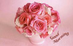 good morning pink roses - Recherche Google