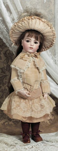 Dolls, A Moveable Feast: 151 Brown-Eyed Bebe by Leon Casimir Bru