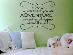 I knew when I met you an adventure was going by designstudiosigns, $33.00