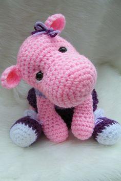 Hipopotamos tejidos a crochet (1)