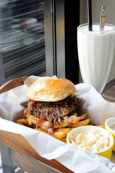 try the bacon marinated burger– homemade bun, streaky bacons, caramelised onions, sauteed mushrooms, and 170g Josper-grilled wagyu patty.