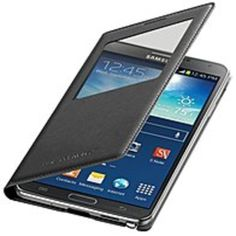 Samsung EF-TN900BBESTA S-View Flip Cover - For Galaxy NOTE 3 - Wireless Charging - View Cover - Black