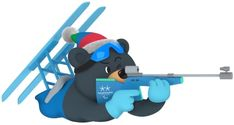 PyeongChang will host the XXIII Olympic Winter Games, Feb. Find voting results and all the latest news as South Korea prepares for the Games. Olympic Mascots, Winter Games, Winter Olympics, Olympia, Skiing, February, Coloring, Kawaii, Exercise