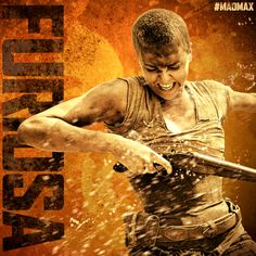 MAD MAX: FURY ROAD - in theaters 2015 #CharlizeTheron