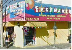 FestMania - Cheapest supplies for parties and costumes.   R Siqueira Campos - Centro   São José dos Campos, SP | CEP: 12210-250