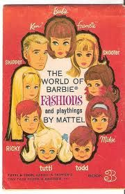 Mattel Booklet - The World of Barbie Fashions and Playthings by Mattel - Book 3
