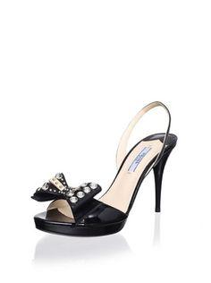 Prada Women's Open-Toe Slingback
