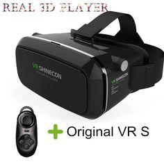 97cdd731443d Original VR SHINECON Virtual Reality Headset 3D Glasses for Smartphones  3.5