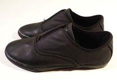 NEW Mens Size 9 Dylan Rieder GRAVIS Slip On in Black Wax, Skate Shoes Sneakers