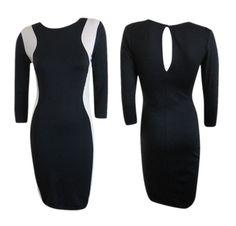 Slimming Color Block Bodycon Dress, $32 #shoppitaya