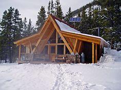 The Markley Hut. Braun Hut System, Colorado