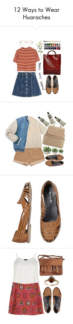 """12 Ways to Wear Huaraches"" by polyvore-editorial on Polyvore"