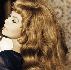 Michèle Mercier: French Italian Screen Goddess Known As Angélique. Commentary on a legendary five-film role that stretched from 1964 to Michelle Mercier, Hair Affair, French Actress, Most Beautiful Faces, Brigitte Bardot, Vintage Hairstyles, Beautiful Actresses, Bella, Her Hair