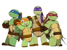 This is honestly one of my favorite gifs! If you want, you can Follow me: @chanina_tmnt