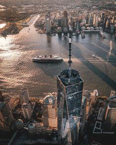 Upstate New York – Enjoy the Great Outdoors! Photo New York, New York City Photos, New York Life, Dream City, City Photography, World Trade Center, Manhattan, Cities, Cruises