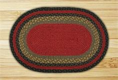 x Burgundy Olive Charcoal Braided Jute Oval Rug. This floor rug is made from natural jute fiber. Jute fiber is harvested from the bamboo like jute plant and is a natur Floor Cloth, Floor Rugs, Oval Rugs, Country Curtains, Area Rug Runners, Braided Rugs, Jute Rug, Home Decor Accessories, Country Decor