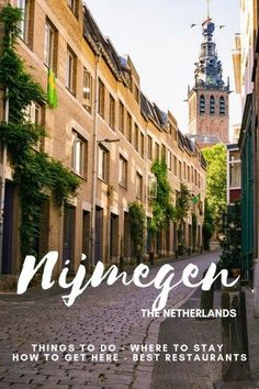 A full guide and itinerary to spending one or two days in Nijmegen, The Netherlands. Discover what to do in Nijmegen, The Netherlands, and the best hotels in Nijmegen. Road Trip Europe, Europe Travel Guide, Europe Destinations, Holiday Destinations, Travel Guides, Malta, The Neighbor, Portugal, European Travel