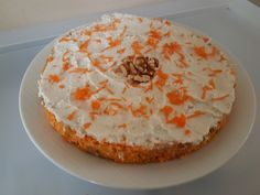 Raw Organic Carrot Cake Carrot Cake, Hummus, Carrots, Organic, Peace, Cakes, Ethnic Recipes, Food, Carrot Cakes
