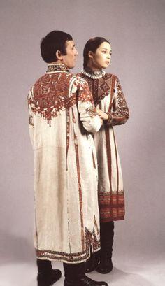 Россия. Чувашский национальный костюм. The Chuvashes Caucasian Slavic russians