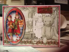 A large card from a Debbi Moore design book