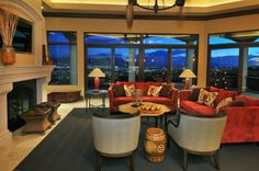 Eclectic Living Room - Found on Zillow Digs Eclectic Living Room, Living Rooms, Mediterranean Decor, Outdoor Furniture Sets, Outdoor Decor, Kitchen Remodel, Home Improvement, House Design, Patio