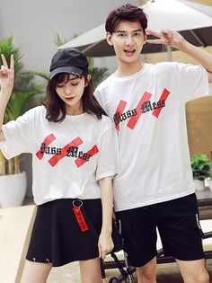 Printing Fashion Style Couple Tops _Couples shirts_WHOLESALE CLOTHING_Wholesale clothing, Wholesale Clothes Online From China