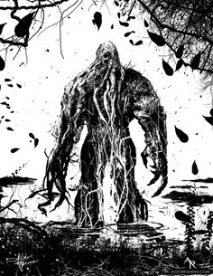 Swamp Thing by Aldo Requena