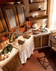 Cucine in muratura: Cucina Paolina di Oggi [d] da Zappalorto