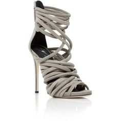 1686ad68942f Giuseppe Zanotti Wrap Heel (€1.070) ❤ liked on Polyvore featuring shoes,  heels