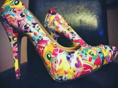 My Little Pony Handmade Alternative Wedding Shoes Revive Me Boutique
