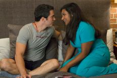 Chris Messina strips down for 'Mindy Project'premiere