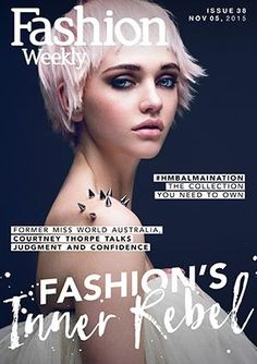 Fashion Weekly Issue 38 Fashion's Inner Rebel