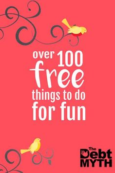 Pin now for later: The giant list of more than 100 free things to do for fun. Ideas for keeping the kids (and yourself) busy this summer :) Ways To Save Money, Money Saving Tips, Money Tips, Free Fun, 100 Free, Free Things To Do, Fun Things, Summer Things, Travel Things