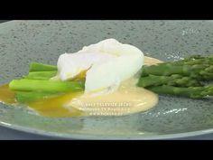 Chřest s holandskou omáčkou a zastřeným vejcem - YouTube Honeydew, Cantaloupe, Asparagus, Make It Yourself, Fruit, Ethnic Recipes, Sauces, Food, Youtube