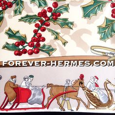 Snow then? In store! http://forever-hermes.com #ForeverHermes this always sold out #winter #ski #snow #Hermes Paris silk scarf designed by Cathy Latham and titled Neige D'Antan featuring stunning glassy #snowflakes and a #retro fashioned #skijumping pair in #christmas decor #mistletoe #holly with berries. #womenswear #womensfashion #HermesParis #hermescarre #dapper #gentleman #MensSuit #MensWear #menstyle #Hermes #Paris