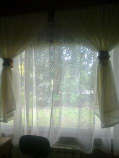 Lazos de cortina en pinterest ganchos de lazos de - Lazos para cortinas ...