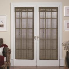 French Door Shades New Touch to Your Interior : Window Shades For French Doors. Window shades for french doors. more window treatments ideas French Door Windows, Double French Doors, Glass French Doors, French Doors Patio, Windows And Doors, French Patio, House Windows, Glass Doors, Panel Doors