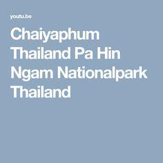 Chaiyaphum Thailand Pa Hin Ngam Nationalpark Thailand