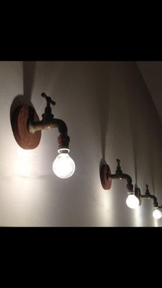 "nice Recycling Ideas for Home. # Lampen ""light up your mind"" DIY Rustic Lighting, Home Lighting, Lighting Design, Industrial Lighting, Funky Lighting, Lighting Ideas, Diy Luminaire, Pipe Lamp, Lamp Light"